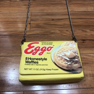 EGGO Waffles Accessory Purse Chain Strap